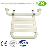 Asiento de baño plegable de nylon de seguridad montado en la pared para discapacitados
