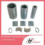 Magneti permanenti di NdFeB del motore di segmento di l$tipo C del forte arco eccellente N42