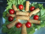 IQF에 의하여 언 100% 손은 야채 20g/Piece Cylinderical에 의하여 길게한 달걀말이를 만들었다