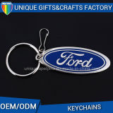 Metal profissional marcado costume Keychain do logotipo do carro