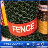 Acoplamiento hexagonal revestido galvanizada y del PVC de alambre con precio de fábrica