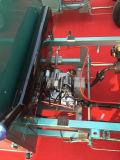 Híbrido 60V eléctrico y triciclo del policía motorizado de la gasolina tres para el pasajero