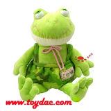 Jouet de grenouille de film de peluche