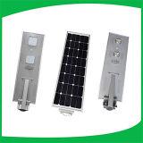 Diebstahlsicheres Remote System Integrated 50W Solar LED Street Lighting für Highway