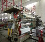 Cadena de producción de mármol del panel del PVC que hace la línea de la protuberancia de la máquina