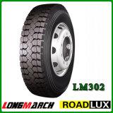 Reifen für den LKW, der in China hergestellt wird, verweisen vom Fabrik Longmarch Gummireifen
