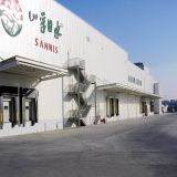 大きいスパンの安い鉄骨構造の低温貯蔵の倉庫の構築