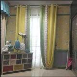 Высокого качества полиэфира занавес 100% окна