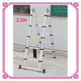 3 de Telescopische Ladder van de positie