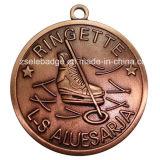 Подгонянный медальон Logo и Shape Antique Copper Finish