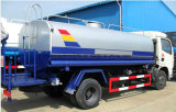 Tanker 4.5 van de Sproeier van Dongfeng 4X2 4500L de Tankwagen van het Water van T voor Verkoop