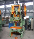 Prensa de energía mecánica excéntrica inclinable de 100 toneladas