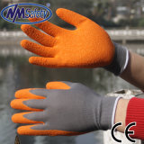 Nmsafety 13G Polyester Liner Latex Coating Work Glove