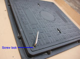 Coperchio di botola quadrato composito En124 con il blocco per grafici