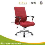 Chaise pivotante en cuir de luxe d'unité centrale (noir B646)