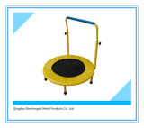 Rebounder/trampolín de la aptitud del diámetro con la barra ajustable de la estabilidad