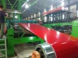 SGCC 0.45*1250mm Ral PPGL Prepainted a bobina de aço do Galvalume