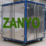 Planta doble del equipo del filtro del purificador del aceite aislador del transformador del vacío de las etapas de Zyd-I