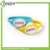 RFID Sport-Handgelenk-Band-Silikon-Armbänder mit EM4100 TK4100 F08 Chip