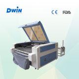 Il doppio dirige la tagliatrice d'alimentazione del laser del tessuto di Automtic
