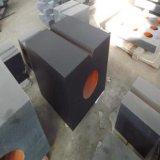 Cylindre de grand dos de granit de précision de cube