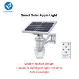 Tous dans une lampe solaire de jardin de DEL avec le panneau solaire