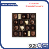 Personalizar a bandeja descartável do chocolate todo o tamanho