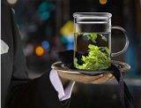Het Drinken van de Kop van de Thee van het Glas van de Hittebestendigheid Glas voor Levering voor doorverkoop