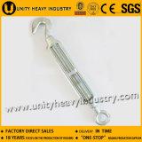 ハードウェアによって電流を通される商業タイプ可鍛性鉄のターンバックル