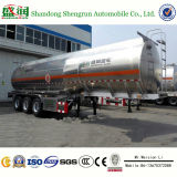 3 Wellen 42000 Liter Aluminiumlegierung-Brennstoff-Transport-Becken-Schlussteil-
