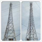 3G 안테나 원거리 통신 각에 의하여 직류 전기를 통하는 강철 자활하는 탑