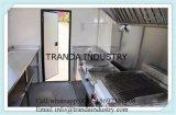 Mostrador de comida com porta deslizante Vegetal e quiosque de exibição de carne