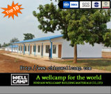 Hotel prefabbricato mobile moderno verde dell'Uganda