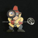 Divisas del Pin de metal del personaje de dibujos animados