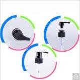 De plastic Transparante Fles van de Pomp van de Lotion voor Douche (nb196-1)