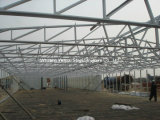 Solo Story Prefabricated Buildings de Steel Structure Erected
