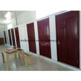 Puerta interior compuesta de madera maciza de seguridad