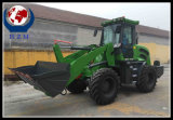Carregador da roda do trator de 3 toneladas para a venda da qualidade superior da venda com forquilha