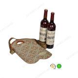 Регулируемый держатель бутылки красного вина неопрена 2-Pack пояса