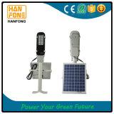 réverbères solaires de 6W DEL pour l'usage à la maison