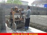 Блок класть яичка Qmj4-45 Shandong Shnengya делая машину