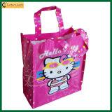 Pp tissés ont feuilleté les sacs à provisions d'emballage (TP-LB365)