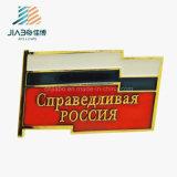 Pinos feitos sob encomenda do Lapel da bandeira do metal do esmalte da pintura dos produtos da amostra livre