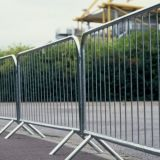 Removable galvanizzato Temporary Building Fence per il Canada