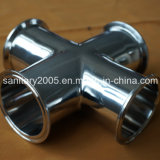 Stainless sanitario Steel Welded 90 Degree Elbow per Food Industry