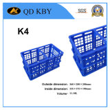 K4 Supermarket Plastic Foldable Crate for Vegetables and Fruits