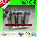 Rimuovere il purificatore di petrolio portatile delle impurità, macchina di filtrazione del petrolio