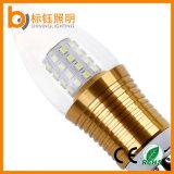 에너지 절약 높은 루멘 5W 램프 E14 E27 AC85-265V LED 초 전구를 점화하는 생산 공장