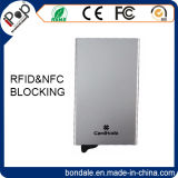 Aluminio RFID que bloquea el protector de la funda de las tarjetas