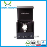 Kundenspezifische Luxuxpappuhr-verpackenkasten mit Samt